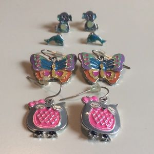 Four Animal Earrings Claire's